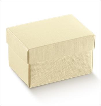 Schachtel mit Deckel - FC-dp - Dekor Seta Avorio