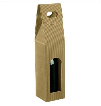 Flaschenkarton - Dekor Onda Avana