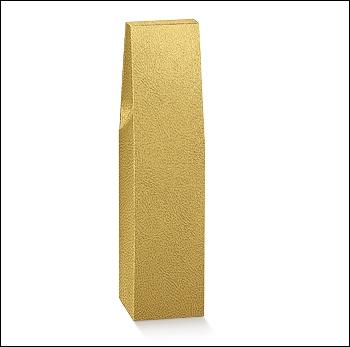 Flaschenkarton - Dekor Pelle Oro