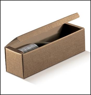 Flaschenkarton - Dekor Sacco