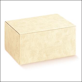 Schachtel - Boite - Dekor Tela Neutro