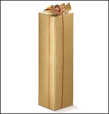 Flaschenkarton - Dekor Seta Oro