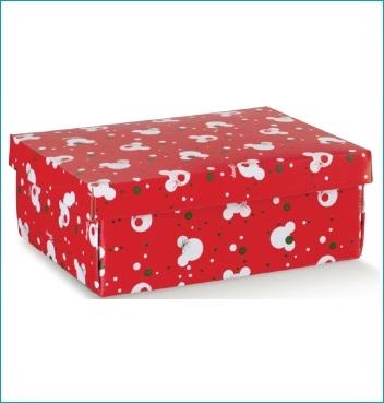Schachtel mit Deckel - F/C-dp Easy - Dekor Mickey's Christmas