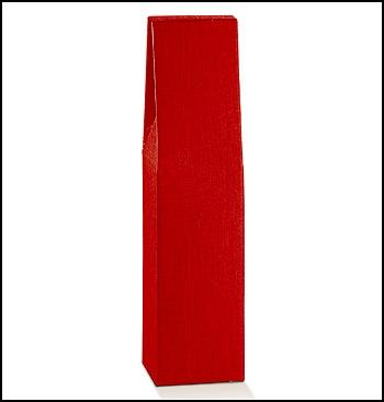 Flaschenkarton - Dekor Seta Rosso