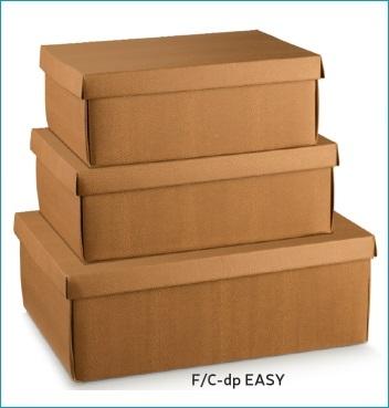 Schachtel mit Deckel - F/C-dp Easy - Dekor Skin Desert