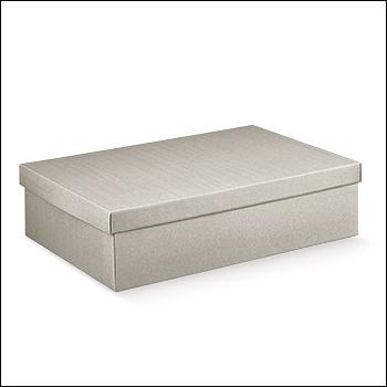 Schachtel mit Deckel - F/C-dp - Dekor Linea Tortora