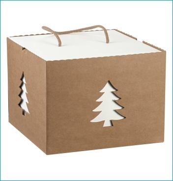 Schachtel mit Kordel - IN con cordino - Dekor Avana