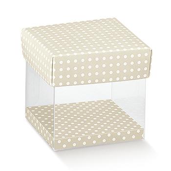 Schachtel durchsichtig mit Deckel - PVC+cop - Dekor Atelier Tortora