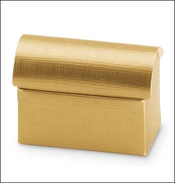 Schachtel Truhe - Cofanetto - Dekor Seta Oro