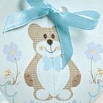 Dekor Teddy Bear Azzurro