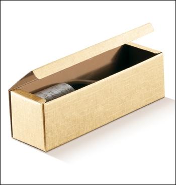 Flaschenkarton - Dekor Seta Sabbia