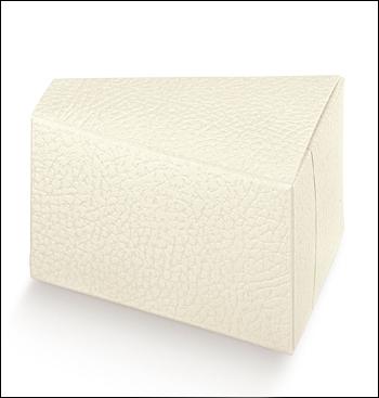 Schachtel Törtchen - Fetta Torta - Dekor Pelle Bianco