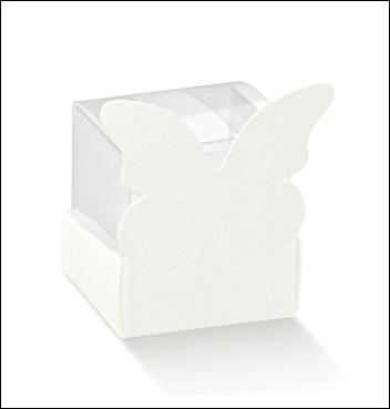 Schachtel - Cestello Farfalla - Dekor White