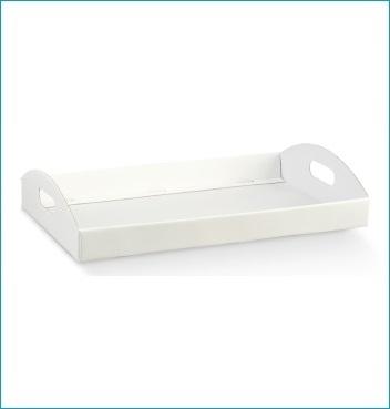 Geschenkkorb - Cesto - Dekor White
