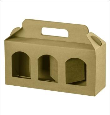 Dosenverpackung - Verpackung für 3 Dosen
